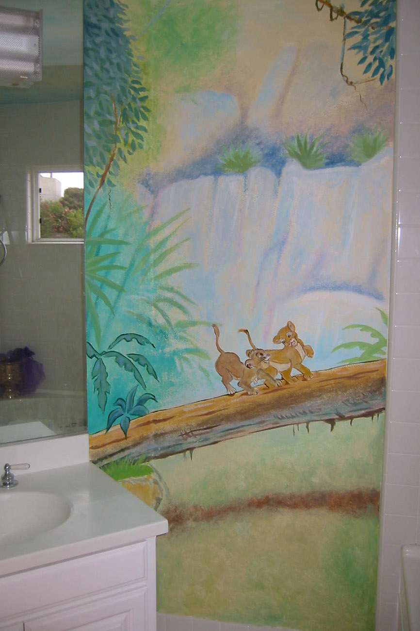 New Murals in Kids Rooms