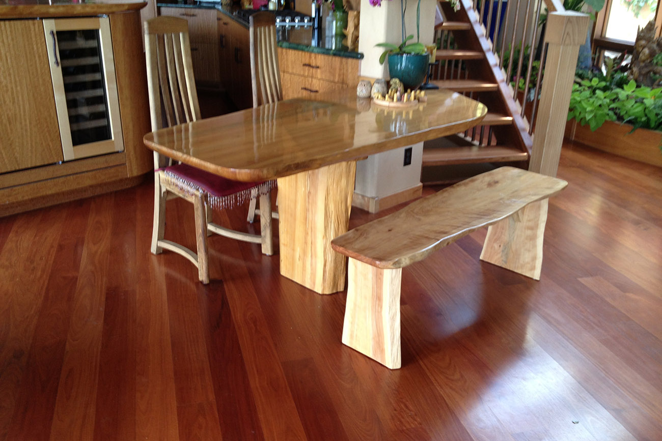 Custom Furniture. M. Cypress. Breakfast table
