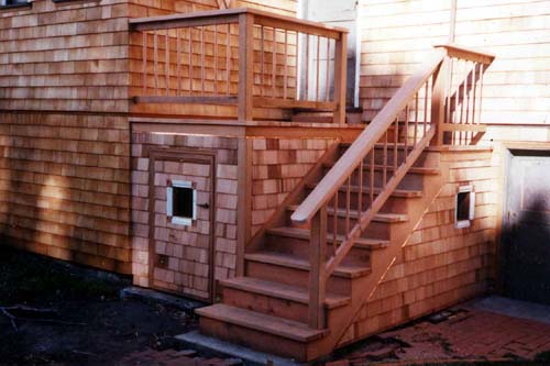 Craftsman Porch & Stairs